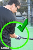 Diagram from Baseball Hitting Drills for a Batting Tee. Photo credit: Sarah Bernier